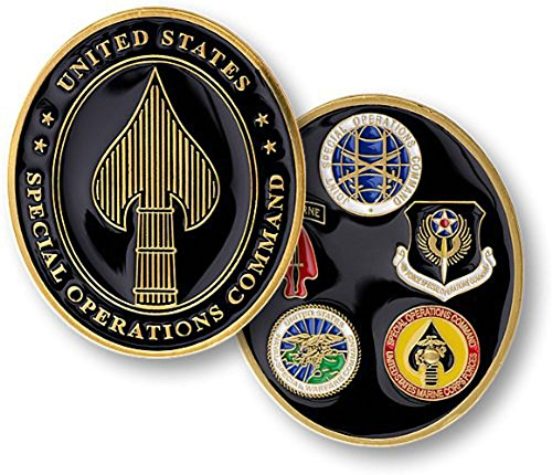 (U.S. Special Operations Command Challenge Coin)
