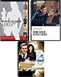 For your Eyes Only + OCTOPUSSY James Bond Two-Disc DVD & James Bond Girls 007 Set Roger Moore Ultimate edition movie collection