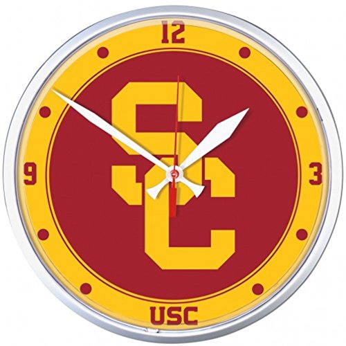 - NCAA USC Trojans WinCraft Official Round Clock