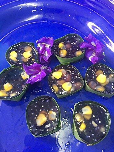Flowers Tea Butterfly Pea Flower with Get Wood Spoon Set Origin in Thailand