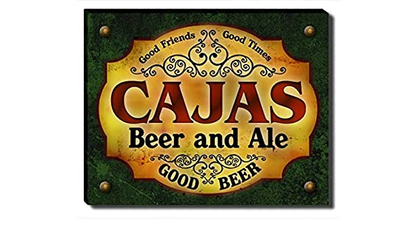 Amazon.com: ZuWEE Cajass Beer and Ale Gallery Wrapped Canvas Print: Posters & Prints