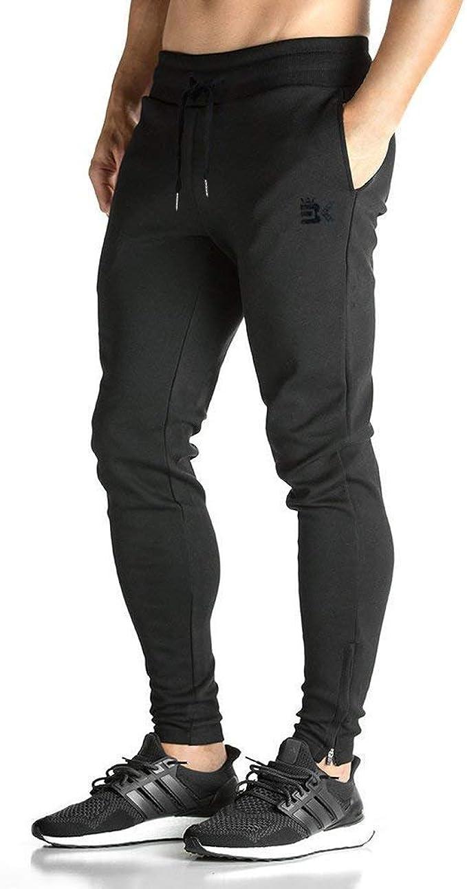 Pantalones De Chándal De Ocio Largo para Gimnasio Hombres De ...