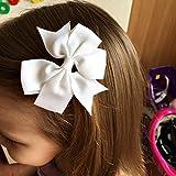 40Piece Boutique Grosgrain Ribbon Pinwheel Hair