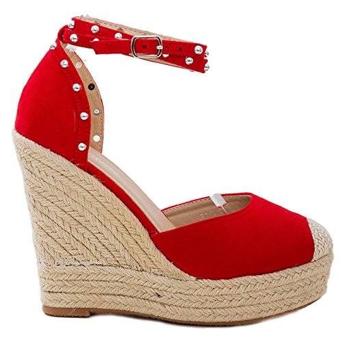 Toocool 3811 Rouge 6 Femme Escarpins rx4rqIZw