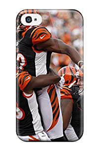 Awesome Cincinnatiengals Flip Case With Fashion Design For Iphone 4/4s