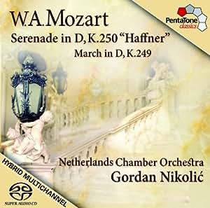 """Mozart: Serenata En Re, """"""""Haffner"""""""", Marcha En Re / Orq. Camara De Los Paises Bajos - Nikolic"""