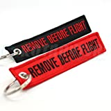 remove before flight lanyard - Remove Before Flight Key Chain - Black & Red Combo 2 Pack - by Rotary13B1