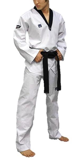 Mooto Taekwondo 3 F MAN Uniformen Enganliegender Fashion Dan