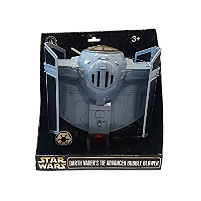 Disney Star Wars Darth Vader Tie Fighter Bubble Blower New with Tags: Toys & Games