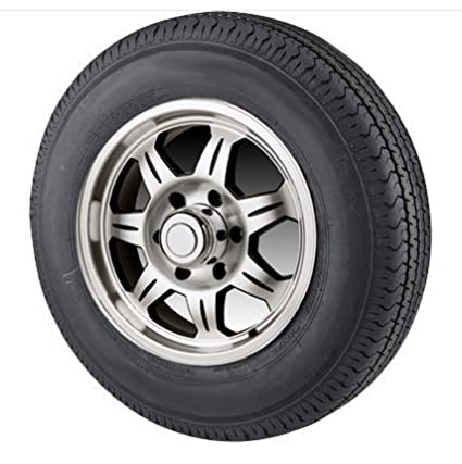 Amazon Com St175 80r13 Radial Trailer Tire With 13 Inch 5 Lug