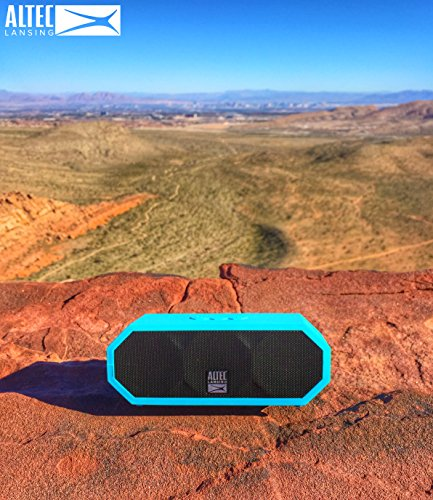 altec lansing h2o 3 speaker out and about
