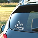"Hogwarts Alumni Castle - 6"" Car Truck Vinyl Decal Art Wall Sticker - Harry Potter Movies Books"