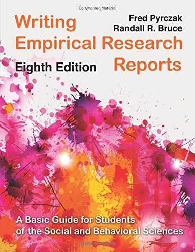 Writing Empirical Research Reports (Pb)