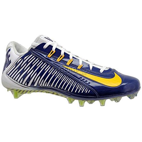 Nike Vapor Carbon Elite TD Herren Fußballschuh Marine / Universität Gold / Weiß