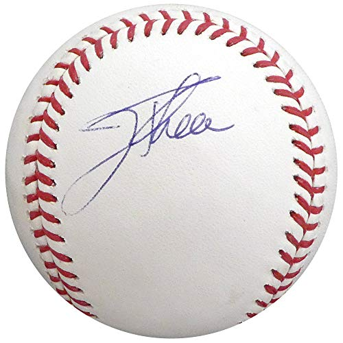 Jim Thome Autographed Signed Memorabilia Official MLB Baseball Cleveland Indians, Philadelphia Phillies - Beckett Authentic ()