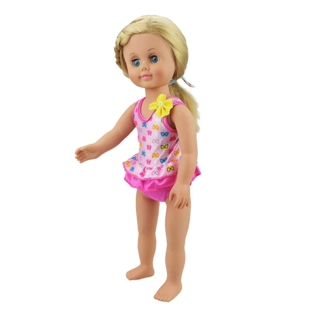 FPZone Doll Clothes,Golden Swimsuit for 18 Inch Dolls Girls Toy,Xmas Gift,Birthday Gift and Childrens Day Gift for Children Golden Swimsuit for 18 Inch Dolls Girl/'s Toy Birthday Gift and Children/'s Day Gift for Children