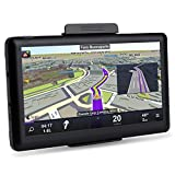 GPS for Car, HighSound 7 Inch 8GB 800x480 LCD Touch Screen GPS Navigation System, Multi-Media Car Vehicle Electronics Lifetime Maps Updated, SAT NAV
