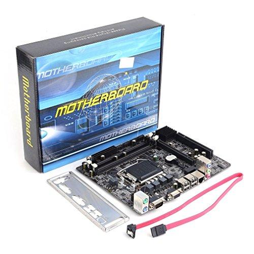 - Kytree H55 LGA 1156 DDR3 RAM 8G Desktop Computer Motherboard 6 Channel Mainboard