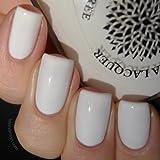 Oriental Lilies | Solid White Nail Polish Creme | by Black Dahlia Lacquer