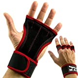 Cross Training Gloves with Wrist Support for WODs,Gym Workout,Weightlifting & Fitness-Extra Padding to avoid Calluses-Suits Men & Women-Weight Lifting Gloves for a Strong Grip-by Mava