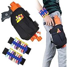 Kids Tactical Waist Bag and Dart Wrister Kit for Nerf Guns N-strike Elite Series Blaster