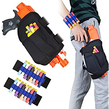 Kids Tactical Waist Bag and Dart Wrister Kit for Nerf Guns N-strike Elite  Series