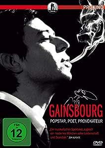 DVD * Gainsbourg - Popstar, Poet, Provokateur [Import allemand]