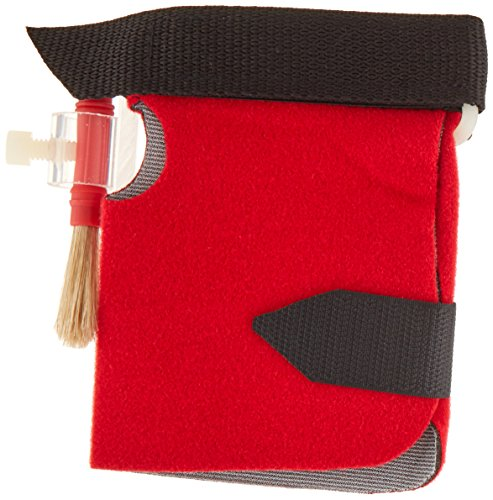"""Sammons Preston Universal Art Tool Holder, Soft Nylon Neoplush Cuff with Velcro Closure Fits Right & Left Hand, """"L"""" Attachment Holds Brush or Art Utensil in Palm Pocket, Adaptive Art Aid for Disabled by Sammons Preston"""