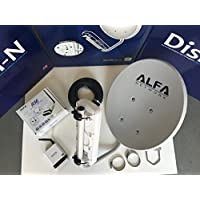 WiFi DISH N 22dBi + ALFA R36 + N2S PoE Cat5e Outdoor Booster Pick Up Hot Spots From Far Away