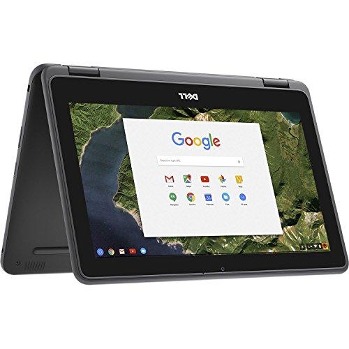 Dell Chromebook 11 - 3189 Intel Celeron N3060 X2 1.6GHz 4GB 32GB,Black(Renewed)