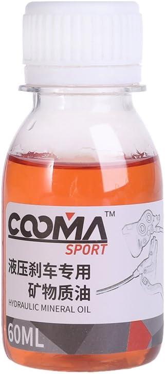 Fogun - Aceite mineral de freno de bicicleta, 60 ml, para Shimano ...