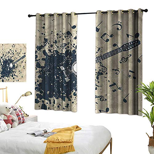 Lightly lace Curtains Modern,Acoustic Guitar Notes 84