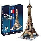 CubicFun C044H - 3D Puzzle La Torre Eiffel Parigi Francia