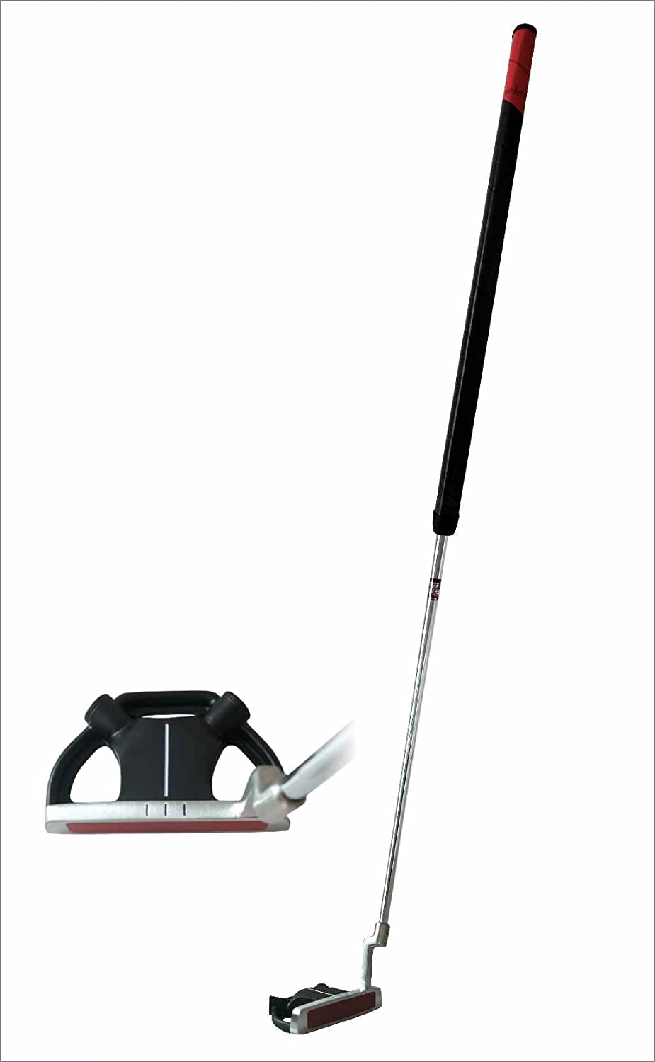 Precise SP-009 Stainless Belly Putter with Winn Grip and Bonus Headcover