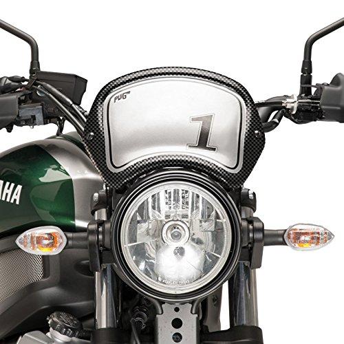 Saute vent Sport Yamaha XSR 700 16-19 look carbone Puig 8801c
