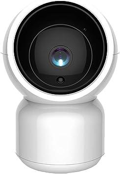 Opinión sobre 2.0 MP cámara Inteligente HD 1080P WiFi IP con Pan-Tilt Zoom, Audio de Dos vías de la visión Nocturna del Monitor del bebé de Seguridad. JIAJIAFUDR (Color : Au)