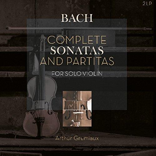 Bach: Complete Sonatas & Partitas For Solo Violin (Bach-shops)