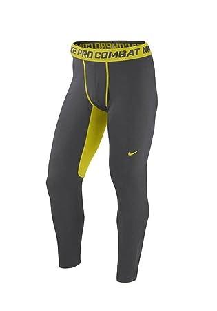 Nike PRO Combat Hyperwarm Fitted Dri-fit Max Men's Tights 2xl Gray