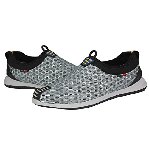 Chaussures homme aquatiques Gris WALK pour LEADER UYqA7UwF