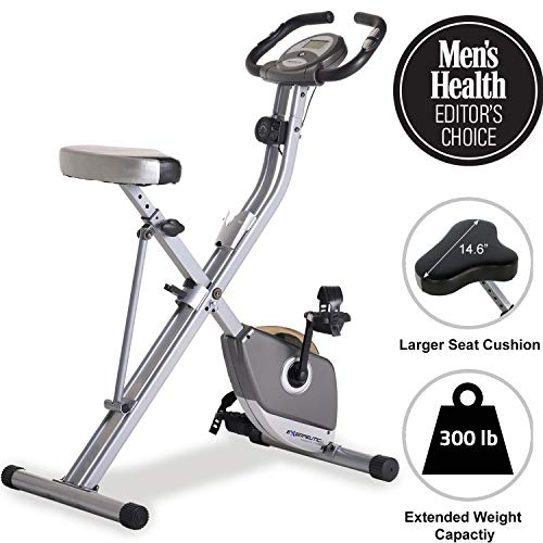 Exerpeutic Folding Magnetic Upright Bike with Pulse Exerpeutic Popular