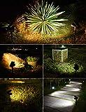 LITOM 30 LEDs Outdoor Solar Landscape Spotlights