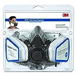 3M Low-Maintenance Half-Mask Organic Vapor, P95 Respirator Assembly, Medium