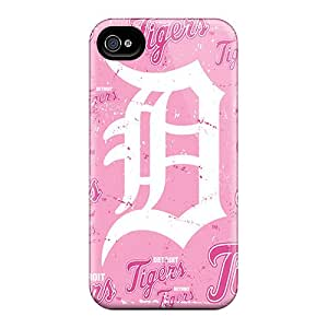Excellent Cell-phone Hard Covers For Iphone 6 With Custom Stylish Detroit Tigers Pattern SherriFakhry