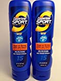 Coppertone Sport High Performance Sunscreen Lotion, 15 SPF, Ultra Dry Formula, 8-Ounce Bottles (2 Pack)