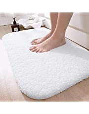 DEXI Bathroom Rug Mat, Extra Soft and Absorbent Bath Rugs, Machine Wash Dry, Non-Slip Carpet Mat for Tub, Shower, and Bath Room