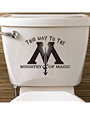 Harry Potter Inspired Ministry Of Magic Toilet