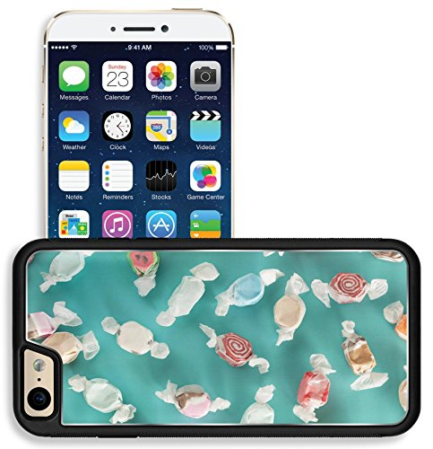 Liili Apple iPhone 6 iPhone 6S Aluminum Backplate Bumper Snap iphone6/6s Case iPhone6 ID: 28245903 Assorted Sweet Saltwater Taffy on a (Saltwater Taffy Sticker)