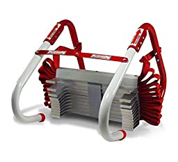 Kidde 468094 Three-Story Fire Escape Ladder with Anti-Slip Rungs, 25-Foot