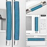 Miss.Silk Refrigerator Door Handle Covers, Set of