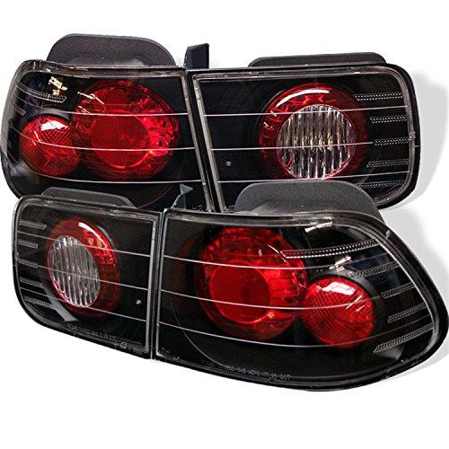 - Spyder Honda Civic 96-00 2Dr Altezza Tail Lights - Black